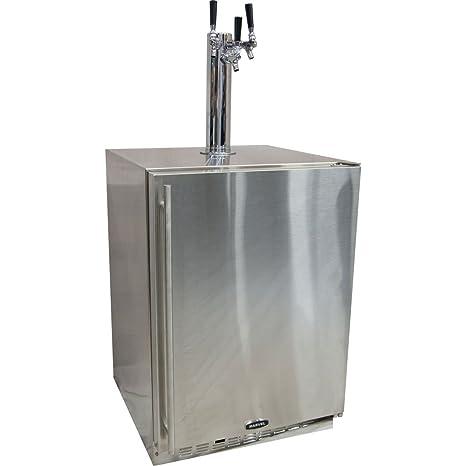 Amazon.com: Marvel 60HK Triple Faucet Built-In Outdoor Kegerator ...