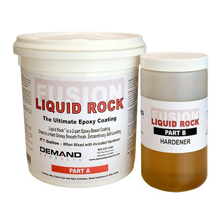 Liquid Rock Epoxy Foam Hard Shell Coating, Case of 4