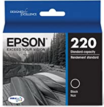 Epson DURABrite Ultra Standard-Capacity Ink Cartridge, Black (T220120)