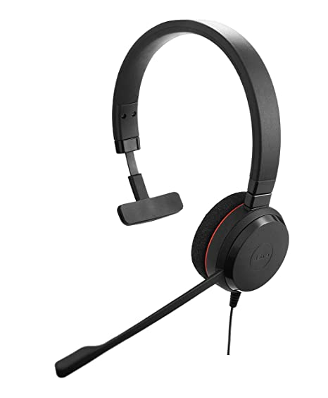 6f3b52daf51 Amazon.com: Jabra Evolve 20 Mono UC - Professional Unified Communicaton  Headset: Cell Phones & Accessories