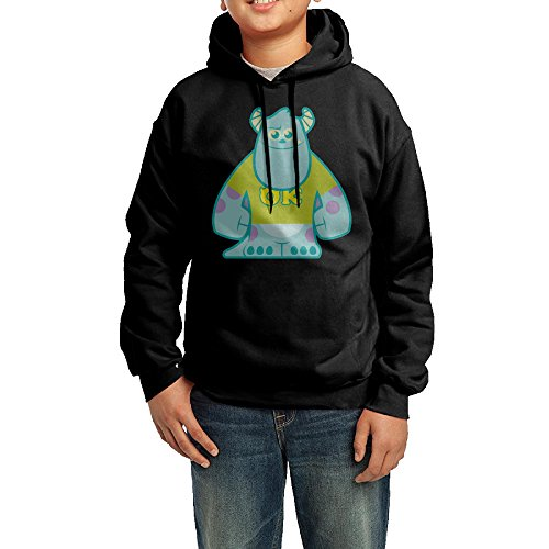 Sulley Monster University Youth Classic Pullover Athletic Sweatshirt Hoodies