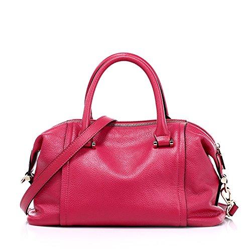 _ Guangming77 Boston Bag Bags Satchel Bag, Red Network