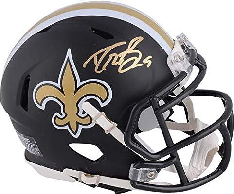 560536227 Drew Brees New Orleans Saints Autographed Riddell Black Matte Alternate  Speed Mini Helmet - Fanatics Authentic Certified