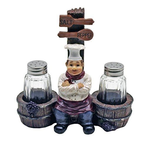 Cordon Bleu Chef Salt and Pepper Shakers