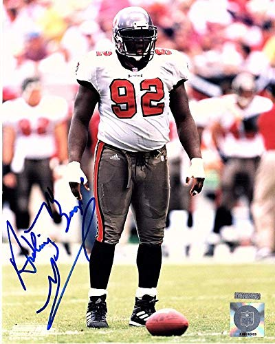 Anthony McFarland - BOOGER McFarland Signed - Autographed Tampa Bay Buccaneers - Bucs 8x10 inch Photo - 2x Super Bowl champion - Guaranteed to pass BAS - Beckett Authentication