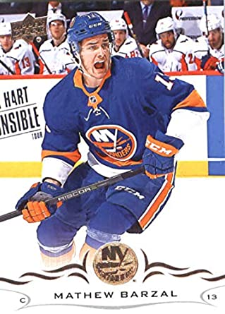 6b1f55179 2018-19 Upper Deck  118 Mathew Barzal New York Islanders NHL Hockey Trading  Card