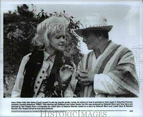 Vintage Photos Historic Images 1988 Press Photo Peter Faulk Cyndi Lauper in Vibes - 8 x 9.75 in