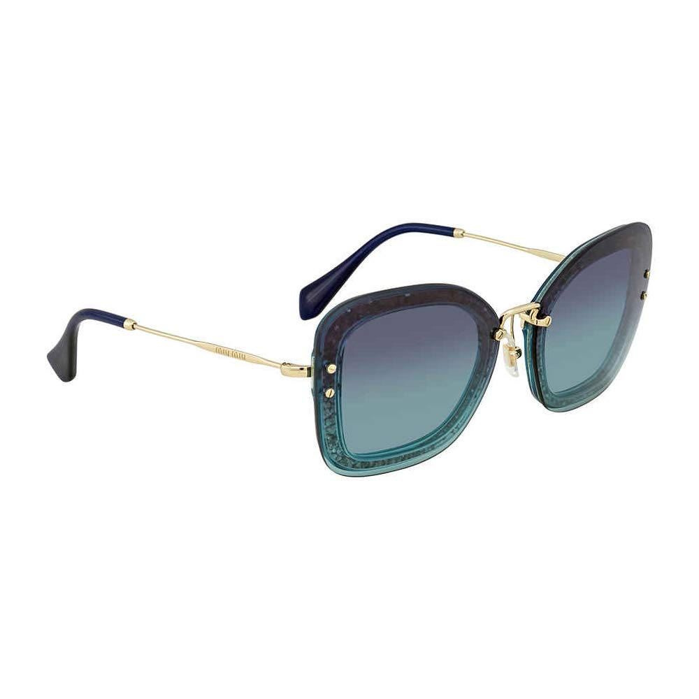 Miu Miu 0MU02TS JZG5R2 65, Gafas de sol para Mujer, Verde ...