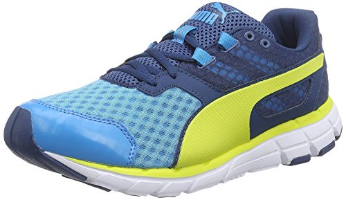 Puma Men's Poseidon V2 Running Shoes-Blue/Poseidon/Sulphur-8