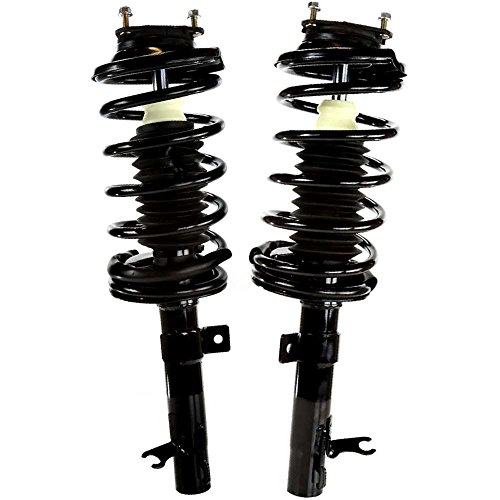 Prime Choice Auto Parts CST100019PR Front Strut Assembly Pair (Front Strut Boot)