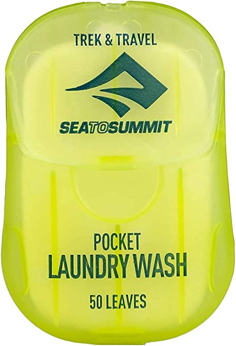 Sea To Summit Trek & Travel Pocket Lavandería (50 hojas/.5 oz)