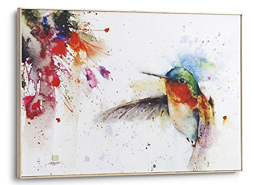 Demdaco Big Sky Carver Jewel Hummingbird Large Wall Art (Ash Creek Solid Wood)