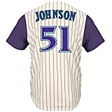 Randy Johnson Arizona Diamondbacks Cool Base Cooperstown Jersey (X-Large)