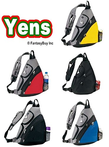 Yens® Fantasybag Urban sport sling pack-Black,SB-6826 ()