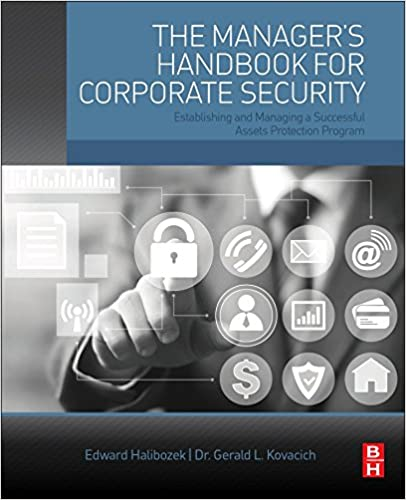 Establishing and Managing a Successful Assets Protection Program The Managers Handbook for Corporate Security