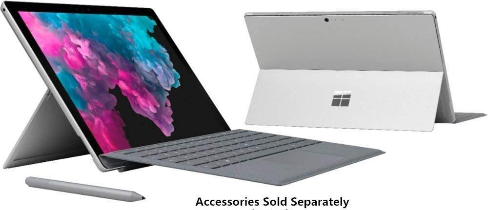 2019 Surface Pro 6 12.3'' Touchscreen (2736 x 1824) Latest Model Tablet PC | Intel Quad-Core i5-8250U (>i7-7500U) | 8GB RAM | 128GB/256GB SSD | Windows 10 | Customize Your Own Accessories