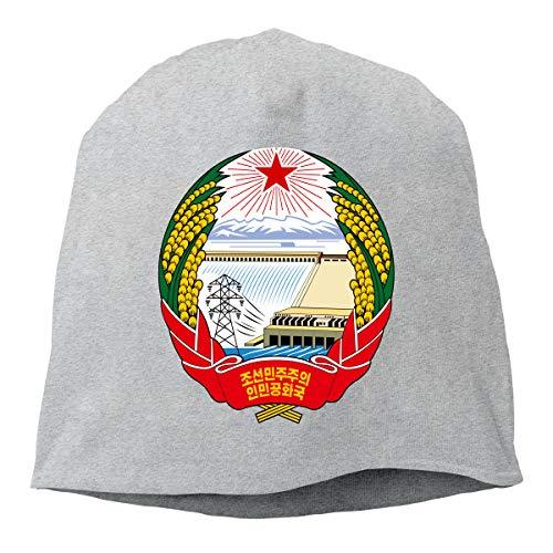 Gabon Coat - X-JUSEN Unisex Coat of Arms of Gabon National Emblem Hip Hop Cute Skull Knit Beanies Hat, Hip-Hop Skull Cap, Slouchy Beanie, Watch Cap, Baggy Hats