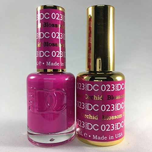 DND DC Duo Gel + Polish - 023 Blossom Orchid