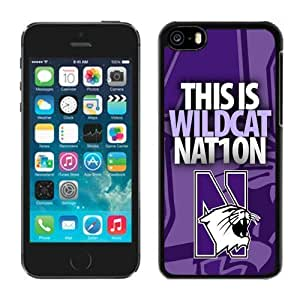 Customized for iphone 5c Case Ncaa Big Ten Conference North Western Wildcats 10