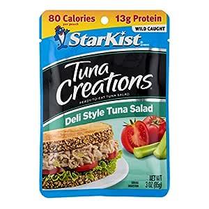 StarKist Tuna Creations Deli Style Tuna Salad - 3 oz Pouch (Pack of 12)