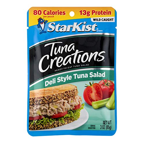 (StarKist Ready-to-Eat Tuna Creations, Deli Style Tuna Salad, 3 Ounce (Pack of)