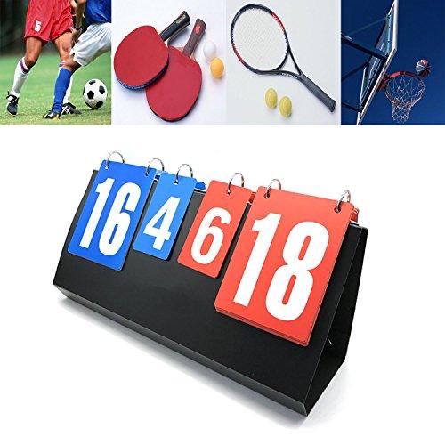 Omonic Scoreboard Portable Multi Sports Volleyball Badminton Table Tennis Set Score by Omonic