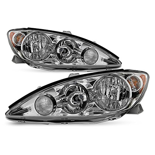 ACANII - For 2005-2006 Toyota Camry LE XLE SE Headlights Headlamps Replacement Driver + Passenger Side