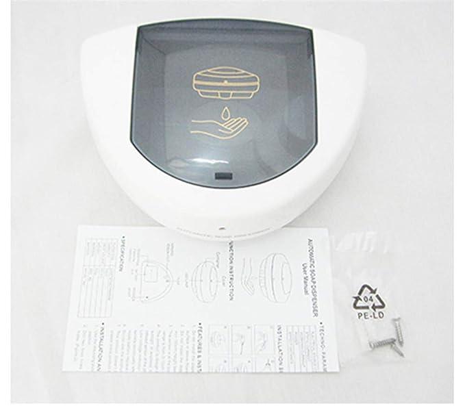 PEIQI BATHROOM Dispensador Jabon Automático,Montaje En Pared,Dispensador De Jabón Automático Sin Contacto Eléctrico A Batería para Cocina Y Baño, ...