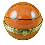 BASKETBALL - LIMOGES PORCELAIN FIGURINE BOXES AUTHENTIC IMPORTS
