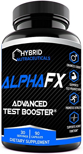 Saw Palmetto Anabolic (AlphaFX™ - The Best Testosterone Booster Supplement / Best Test Booster for Men, with Estrogen Blocker, Tribulus Terrestris, and Chrysin. Most Advanced Natural Anabolic Test Booster)
