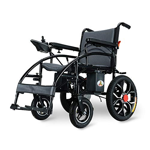Price comparison product image Wheelchair,  Disabled Four-Wheeled Electric Wheelchair,  Folding Portable Intelligent Automatic Scooter,  Load 150kg,  Power 250W Easy to use