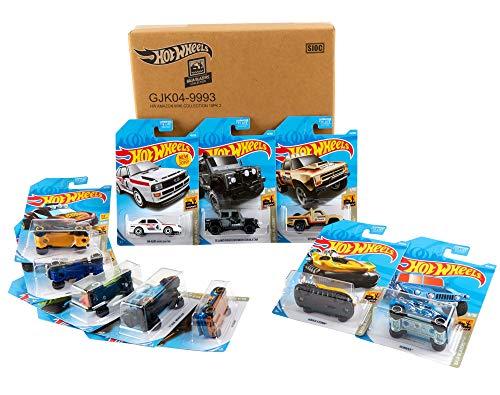 Hot Wheels Baja Blazers 10-Pack Diecast Mini Collection [Amazon Exclusive]