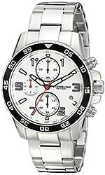 Stuhrling Original Men's 985.01 Concorso Quartz Chronograph Stainless Steel Link Bracelet Watch