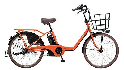 Panasonic(パナソニック) 2018年モデル ギュットステージ22 22インチ BE-ELMU232 3人乗り(幼児2人同乗基準対応)電動アシスト自転車 専用充電器付 B078KMFD4Gマットブラッドオレンジ