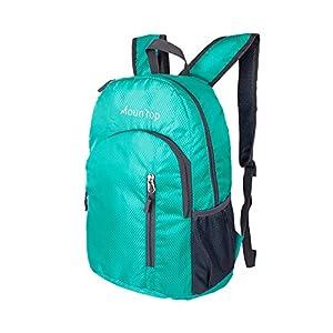 Lightweight Foldable Packable Durable Travel Hiking Backpacks Daypacks 20L (Teal)