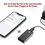 TaoTronics Bluetooth AUX Adapter, APTX Stereo Bluetooth Receiver, 15 Hour Hands-Free Bluetooth Car kit, Wireless Audio Bluetooth 4.2 Car Adapter, Auto on Once Plugged to Power(CVC 6.0)