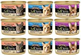 AvoDerm Natural Wild by Nature Grain-Free Canned Cat Entree in Consommé 3 Flavor Bundle: (3) Salmon Entree, (3) Tuna with Prawns Entree, (3) Chopped Sardine Entree, 3 Oz Each, (9 Cans Total) Review