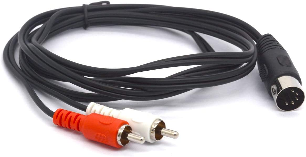 New 5 x 5 Pin DIN Male Connectors US Shipping