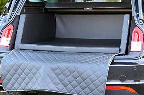 Padsforall Autoschondecke Kofferraum Schutzdecke Auto Hundebett In Schwarz Kunstleder Mypado Haustier
