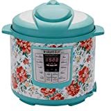nstant Pot Pioneer Woman LUX60 Vintage Floral 6 Qt 6-in-1 Multi-Use Programmable Pressure Cooker, Slow Cooker, Rice Cooker, Saute, Steamer, and Warmer