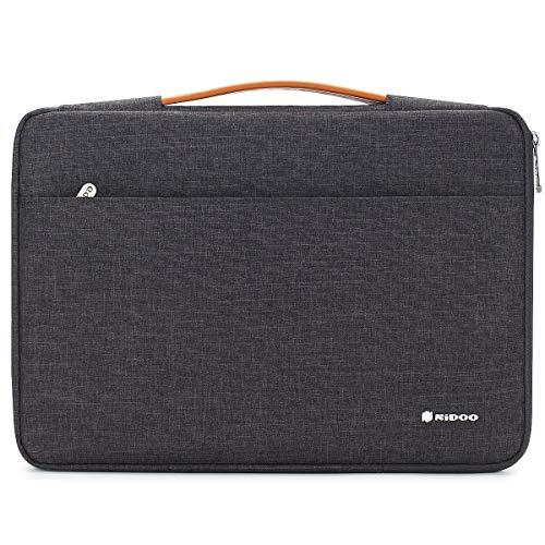 NIDOO 10 inch Laptop Sleeve case Notebook Bag Protective Handbag for 10.5' 11' iPad Pro / 10.5' iPad Air / 10' Microsoft Surface Go / 10.5' Samsung Galaxy Tab S4 / 10.1' Lenovo Ideapad D330, Dark Gray
