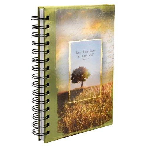 Psalm 46:10 Hardcover Wirebound Journal