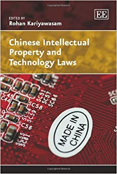 Book Chinese Intellectual Property and Technology Laws