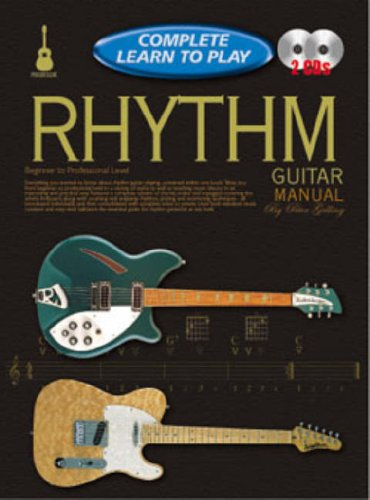 CP69320 - Progressive Complete Learn to Play Rhythm Guitar Manual