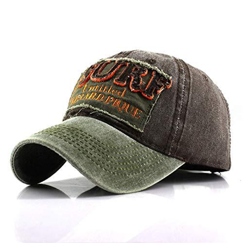 Summer Letter Embroidery Face Cap for Women Men Flexfit Baseball Caps Cotton Red Black Slipknot Trucker Hat ()