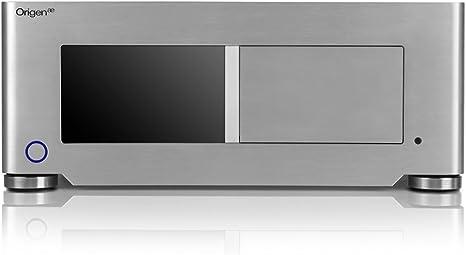OrigenAE S16T HTPC Plata - Caja de Ordenador (HTPC, PC, Aluminio, Plata, ATX,Micro ATX,Mini-ITX, 1x 92 mm): Amazon.es: Informática