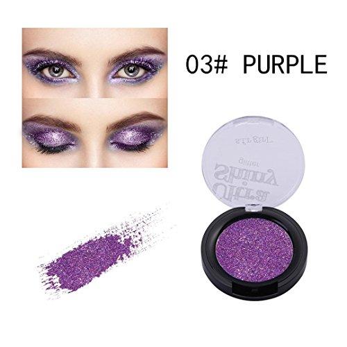 Ultra Shiny GlitterEyeshadow Powder ,YOYORI Charming Loose S