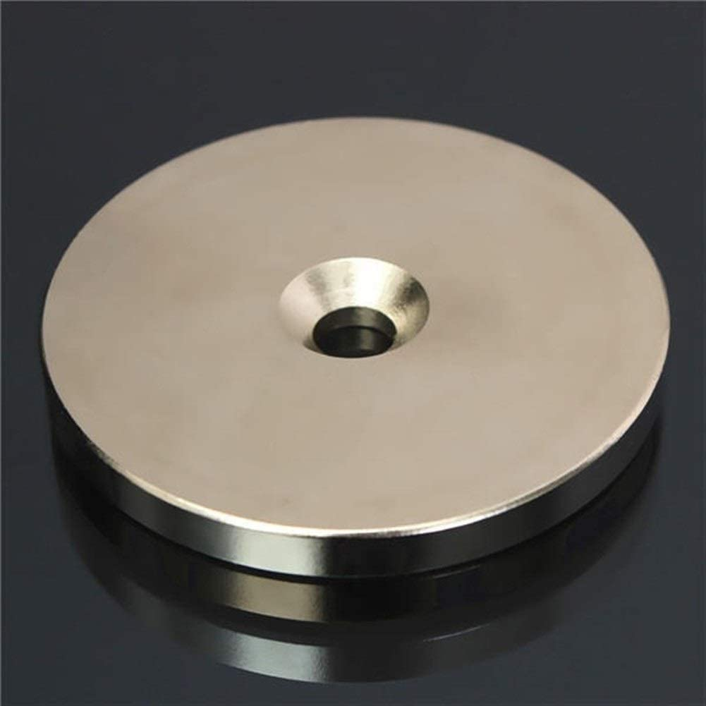 Magn/étique N52 50mmx5mm terre aimants n/éodyme frais/ée anneau aimant disque trou de 6 mm Rare