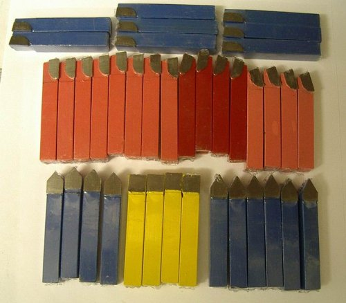 Value Pack of 38 Assorted TCT Lathe Tools 5//16 Square Shank **Special Offer**