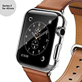 Apple Watch Series 2 Case, Oittm [Crystal Clear] PC Hard Screen Protector All-around Protective Ultra-thin Cover for Apple Watch Series 2/Edition/Nike+ 2016 [Lifetime Replacements] (42MM) Reviews